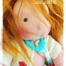 Waldorf doll Miss Rusty, bu Louie Louie Bebe