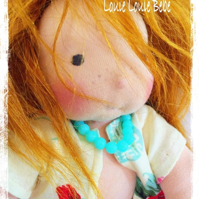Waldorf doll Miss Rusty bu Louie Louie Bebe