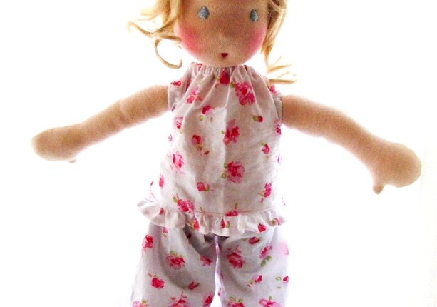 Waldorf Doll Miss Cornelia, By Louie Louie Bebe