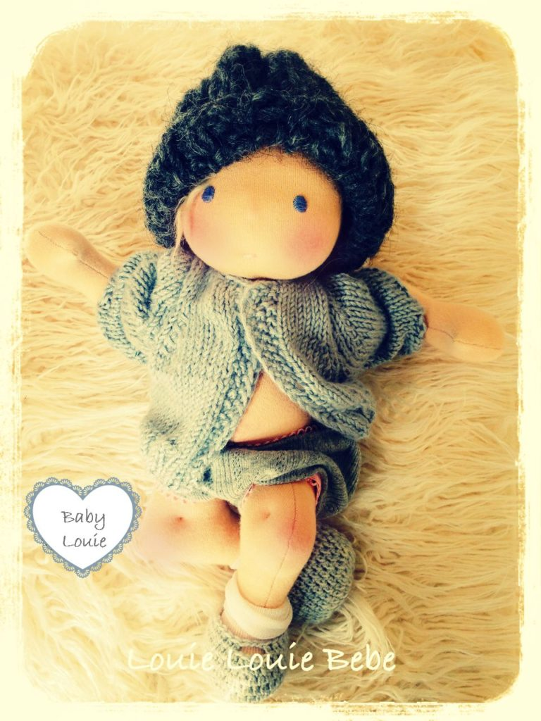 Waldorf doll Baby Louie