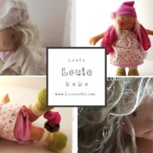 Waldorf dolls by Louie Louie Bebe