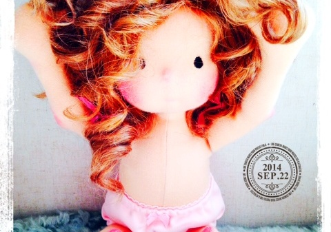 Miss Dakota, Waldorf Doll by Louie Louie bebe