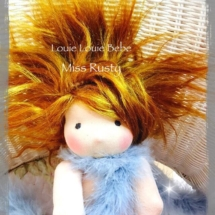 Waldorf doll Miss Rusty* By Louie Louie Bebe