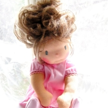 Waldorf doll Miss Scout, by Louie Louie Bebe