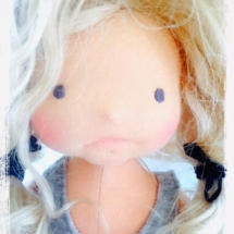 Needle felWaldorf doll Miss Charlotte, by Louie Louie Bebe