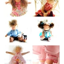 Waldorf dolls by Louie Louie Bebe