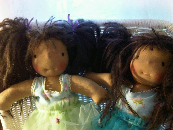 Sisters dolls