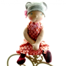 Waldorf doll by Louie Louie Bebe