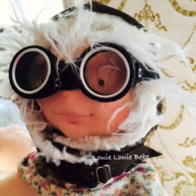 Aviator doll by Louie Louie bebe