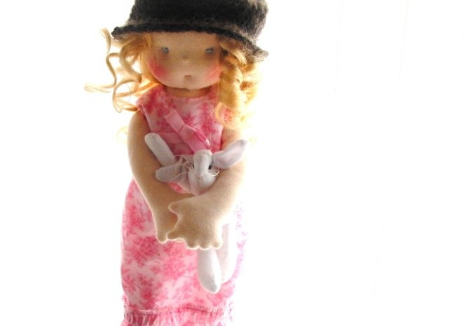 Waldorf doll Louise, by Louie Louie Bebe