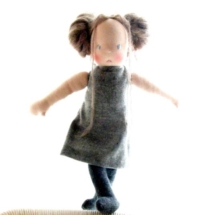 Miss Agnes, Louie Louie Bebe Waldorf doll