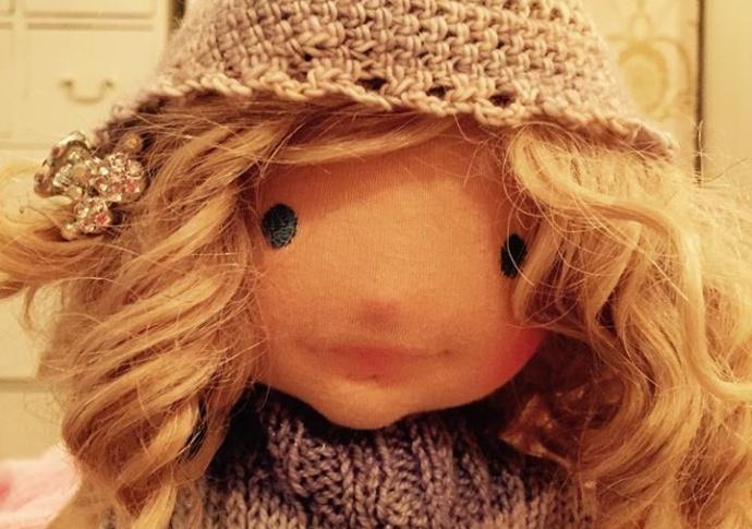 Waldorf doll Miss Margarita, by Louie Louie Bebe