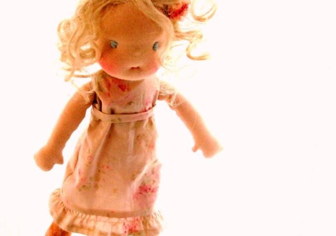 Waldorf Doll Miss Grace, by Louie Louie Bebe