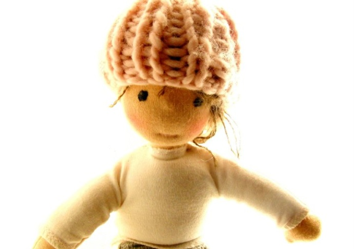 Waldorf doll Miss Emma, By Louie Louie Bebe