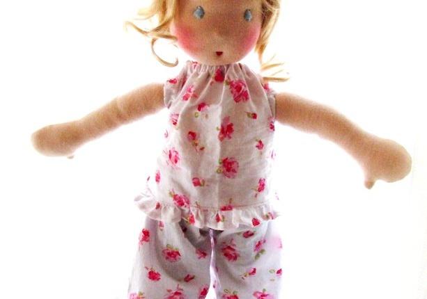 Waldorf Doll Miss Cornelia, By Louie Louie Bebe