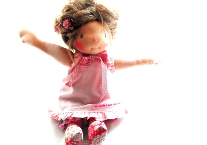Waldorf doll Cosette, by Louie Louie Bebe
