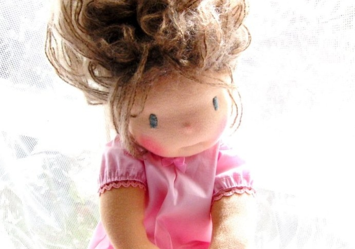 Waldorf doll Miss Scout, by Louie Louie Bebe