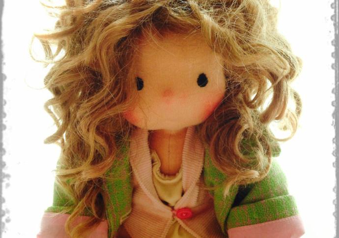 Waldorf doll Miss Dakota, by Louie Louie Bebe