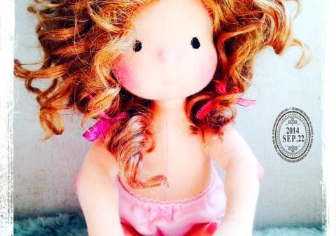 Miss Dakota, Waldorf doll by Louie Louie Bebe