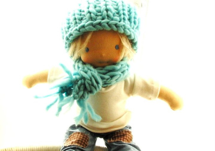 A Boy doll, by Louie Louie Bebe