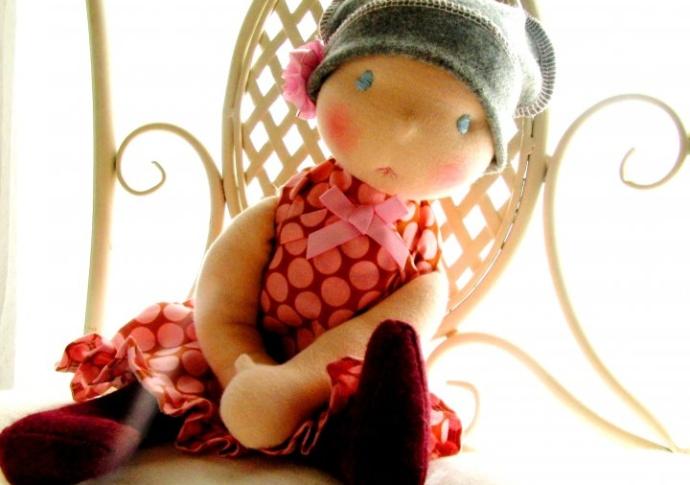 Louie Louie Bebe Waldorf inspired doll