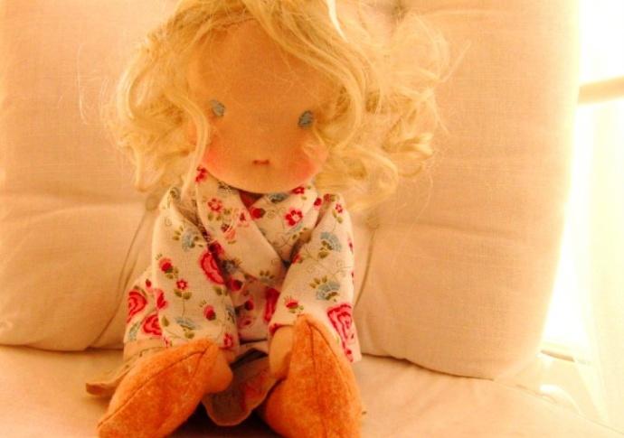Waldorf doll Grace, by Louie Louie Bebe