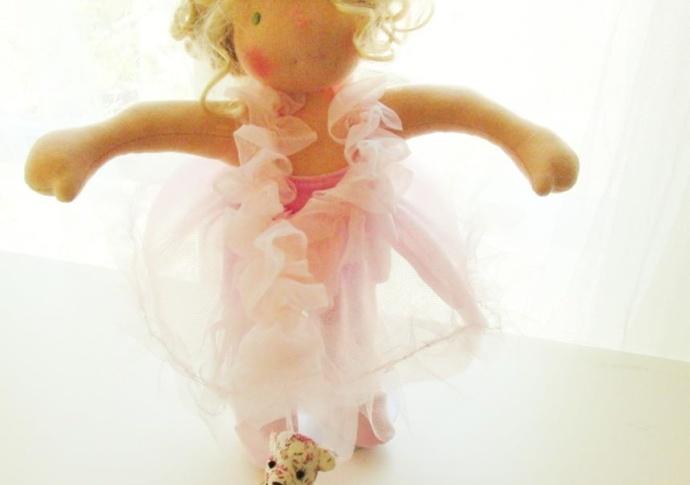 A Pink Ballerina by Louie Louie Bebe