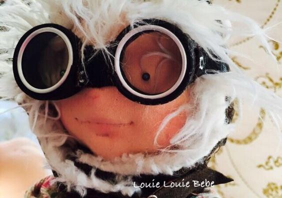 Aviator doll by Louie Louie bebe