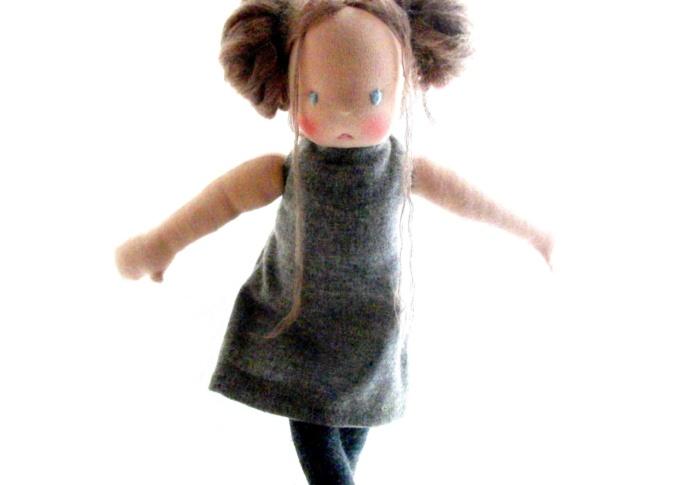 Waldorf doll Miss Agnes, by Louie Louie Bebe
