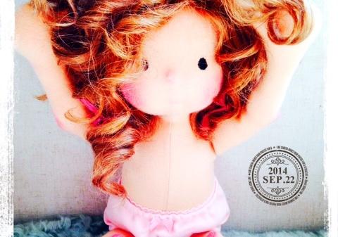 Waldorf doll Miss Dakota by Louie Louie Bebe